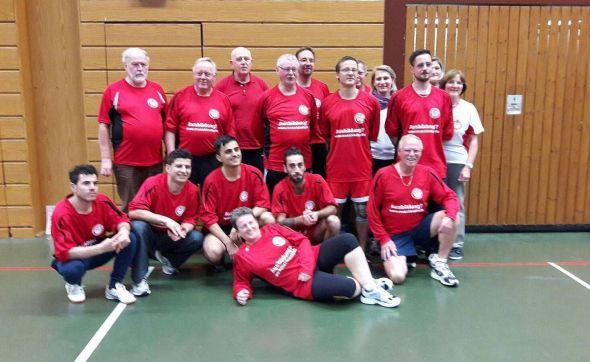 Faustballteam MTV Lauterberg