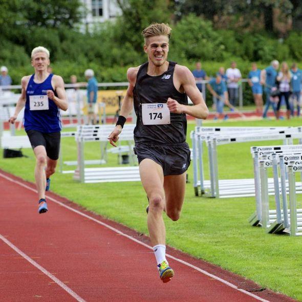 Momentan Deutschlands schnellster 800-Meter-Läufer: Marc Rheuter. (Foto: Wolfgang Böttner)