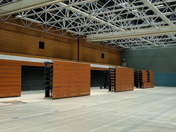 Viele Sportstätten im Landkreis Göttingen sind sanierungsbedürftig. Die Sporthalle der KGS Bad Lauterberg zum Beispiel bekam 2018 einen neuen Boden. (Archivfoto: Boris Janssen)