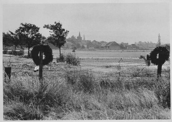 Die Grenze bei Ecklingerode im Sommer 1952 (Foto: Hans-Georg Hövener, Archiv Grenzlandmuseum Eichsfeld)