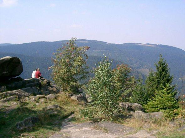 Blick von der Kaesteklippe. Foto: Harzer Tourismusverband