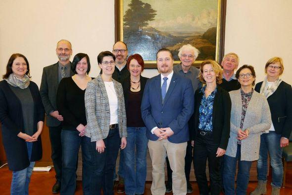 Die Abteilungsversammlung der neuen HTV-Abteilung Harzer Klöster.
