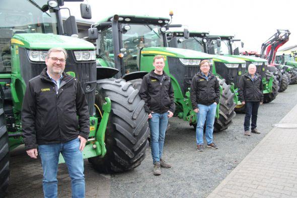 Familie Deppe von links: Sven, Justin, Marcel und Friedrich Deppe (Fotos: Karl-Heinz Wolter)