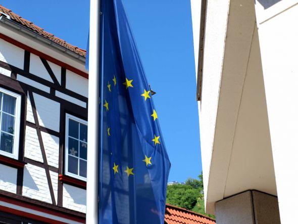 Auch unterm Hausberg wurde das Europaparlament gewählt.
