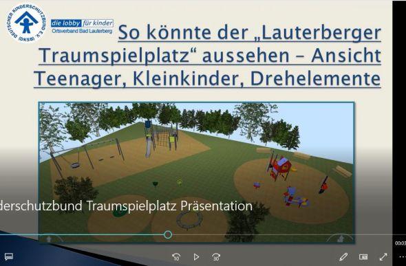 Screenshot - die eigentliche Videopräsentation finden Sie unter dem Text.