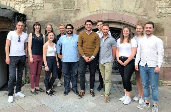 Der neue Vorstand des Junge Union Kreisverbandes Göttingen.