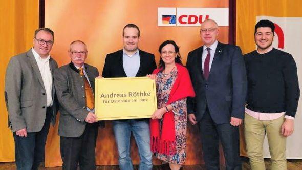CDU-Politiker aus Stadt und Kreis wollen gemeinsam anpacken (von links): Andreas Körner, Albert Schicketanz, Andreas Röthke, Monika Grammel, Thomas Ehbrecht und Kerem Öztürk.