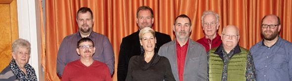 Der neue Vorstand (v.l.): Gudrun Teyke, Ronald Ulinski, Kai Große, Petra Schultheis, Ingo Fiedler, Uwe Speit, Klaus Benninghoff, Wilfried Große und Thomas Wegener.