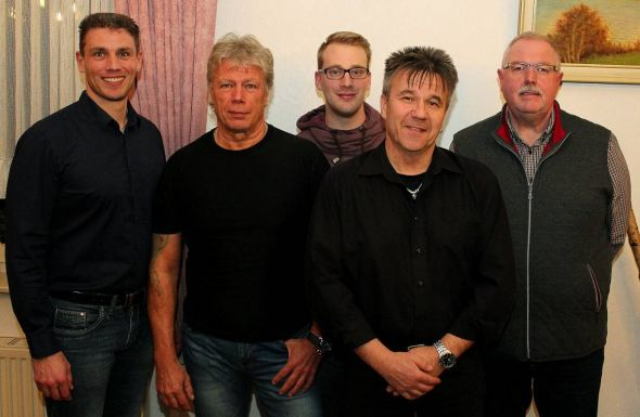 Der neue Vorstand (von links): Kai Picht, Jürgen Picht, Nico Koch, Thomas Panterodt und Ralf Reyer.