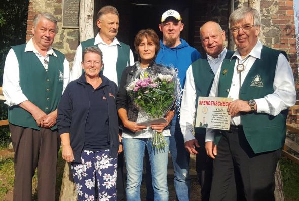 von links: Heinz-Gerd Trüter, Janka Eckardt, Peter Laumann, Manuela Koch, Stephan Oppermann, Klaus Wiedemann, Horst Jäde