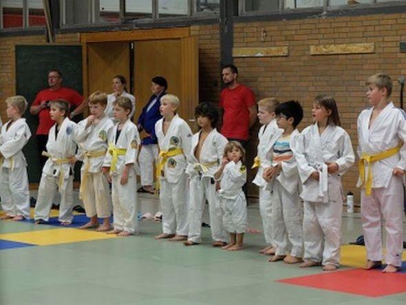 Judoka bei der letzten Judosafari