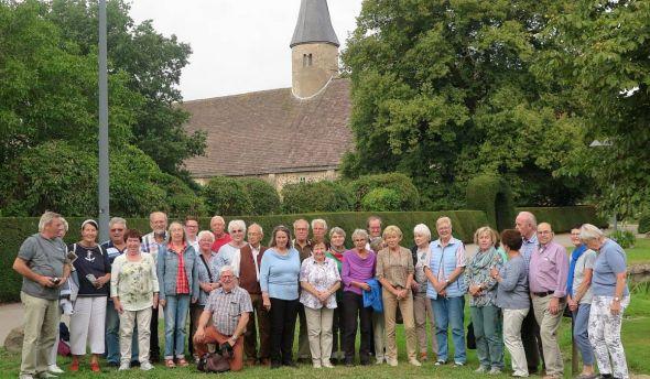 Die Teilnehmer der Fahrt nach Hessisch Oldendorf.