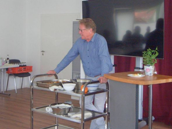 Detlev Fricke, Vorsitzender des Vereins Vitalis Plus e.V.