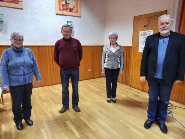 Traute Heydorn, Wilhelm Gerlach, Emmi Häfner, Ulrich Helmboldt