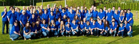 Deutscher Meister 2016 in der Konzertklasse: Das Blasorchester Herzberg. (Fotos: Andreas Kindermann)