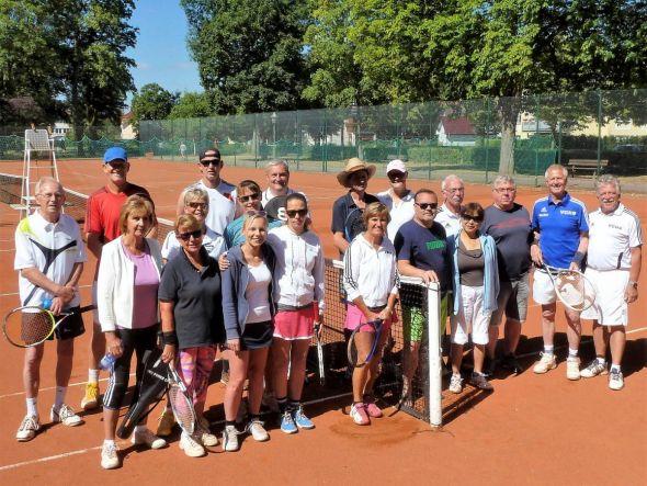 Alle Teilnehmer des 7. VGH-Tenniscups.