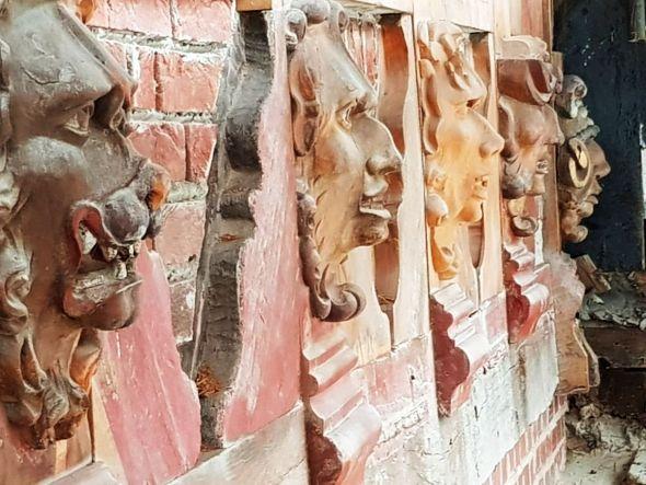 Der Neujahrsempfang findet in einer spannenden Zeit statt. Das Welfenschloss wird aufwändig saniert. Auch die Figuren am Schlossturm werden restauriert. Fotos: Peter Bischof