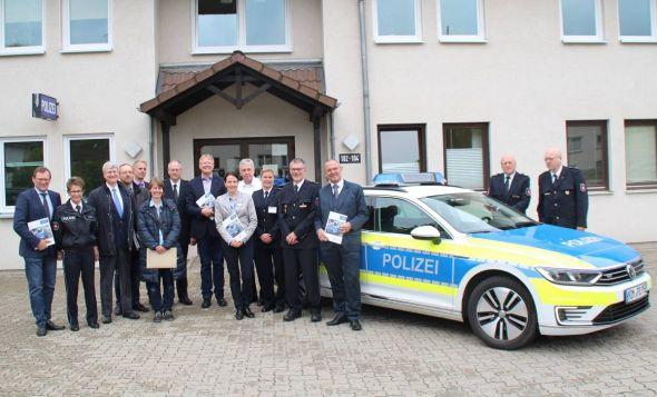 Hoher polizeilicher Besuch in Bad Lauterberg