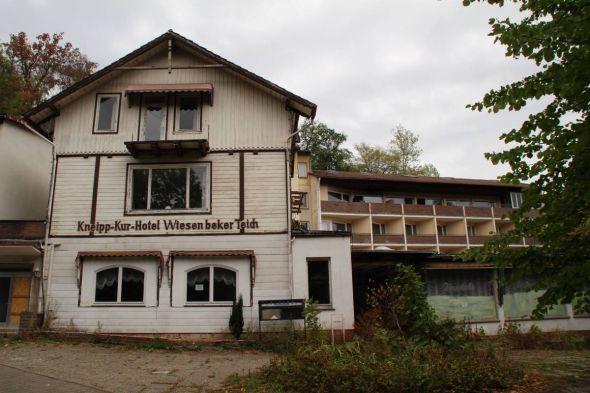 Das ehemalige Hotel am Wiesenbek (Archivfoto)