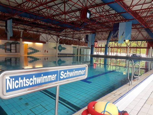 Per Schwimmabzeichen nachgewiesen: Im Bad Lauterberger Vitamar wurden auch bisherige Nichtschwimmer zu Schwimmern.