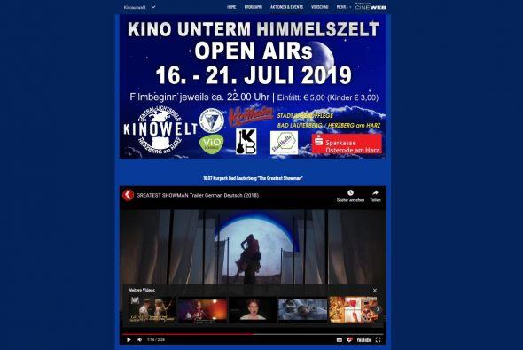 Auf der Homepage des Kinos Herzberg können die Trailer abgerufen werden
