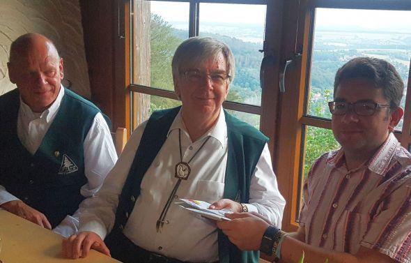 von links: Klaus Wiedemann, Horst Jäde, Oliver Eckstein