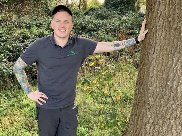 Liebt Bäume: Referent Pit Schumacher.