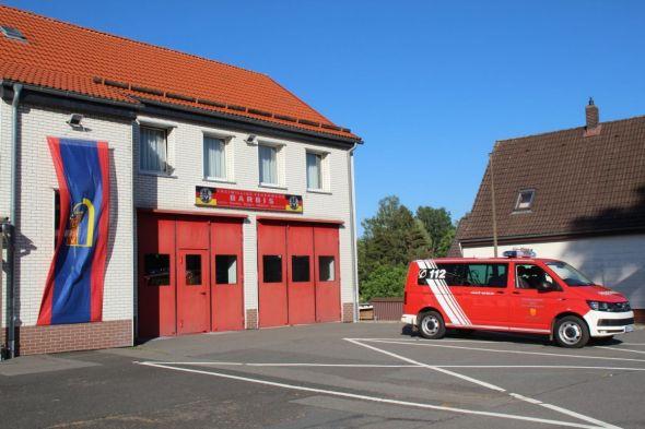 Das Feuerwehrhaus in Barbis entspricht nicht mehr den Sicherheitsanforderungen