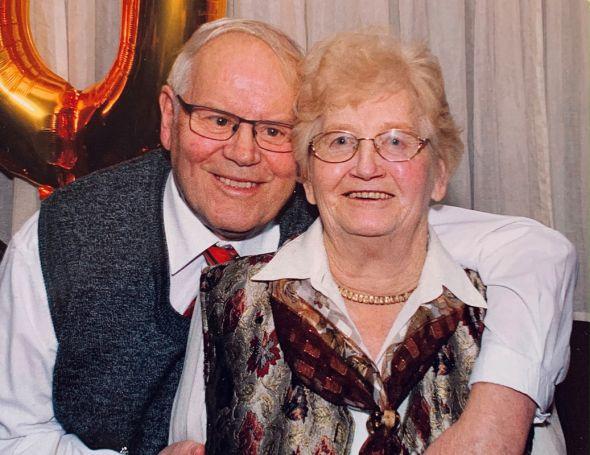 Das Jubelpaar Erika und Jürgen Eggers (Foto: privat)
