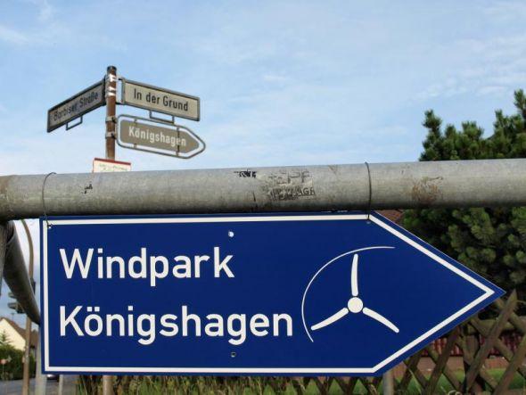 Energiewende, quo vadis? In Königshagen eindeutig Richtung Windkraft.