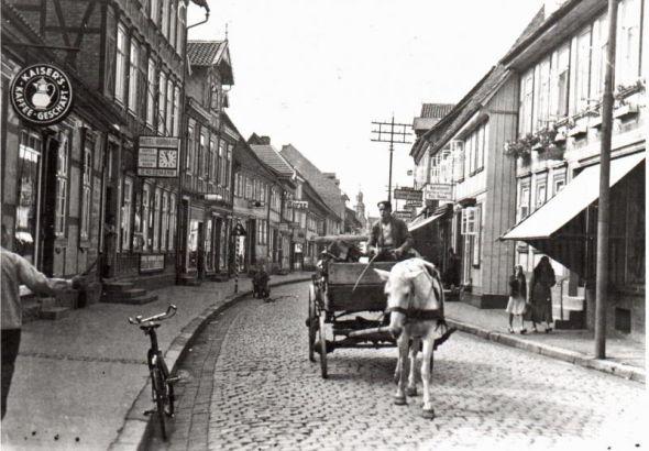Schuhladen Pelz um 1930 (Bild: Archivgemeinschaft)