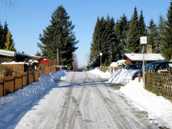 In der Vergangenheit haben sich die Bewohner des Bühbergs meist selbst um einen Winterdienst bemüht. In diesem Jahr übernimmt die Stadt das Schneeräumen und Streuen. (Foto: Andreas Janssen)