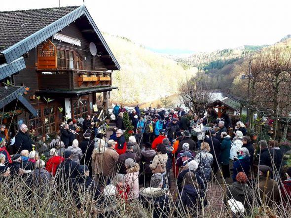 Auch 2018 zog der Neujahrsempfang viele Gäste an den Wiesenbek. (Fotos: Dieter Pfeiffer)