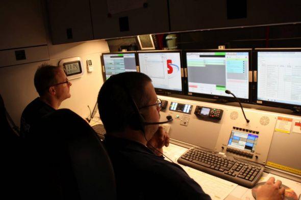 """Mit neuester Technik ausgestattet: das neue ELW - hier im Einsatz beim Herbststurm """"Herwart"""""""