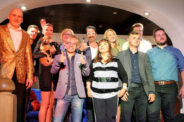 Tolle Mischung: Die Showtalk-Stars der neuesten Ausgabe in Bad Lauterberg.