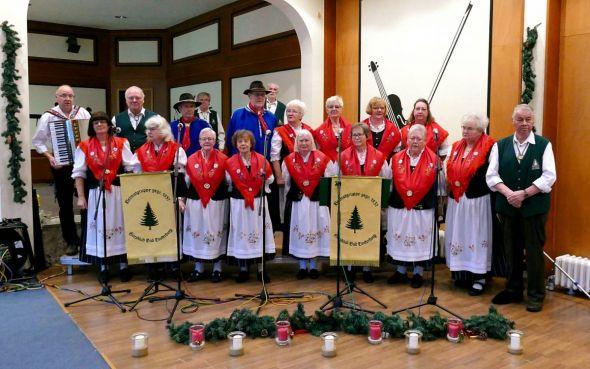 Die Heimatgruppe des Harzklub Bad Lauterberg bekam reichlich Beifall für seine Darbietungen. (Fotos: Wilhelm Diekmann)