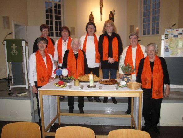 Der Frauenkreis in Lasfelde