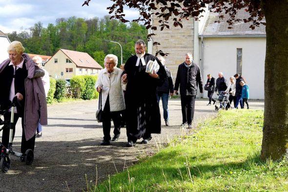 """Aufbruchstimmung: Nach einer ersten Bestandsaufnahme werde man """"irgendwann, irgendwie, irgendwohin gemeinsam aufbrechen"""", sagt der neue Pastor der Paulusgemeinde Andreas Schmidt."""
