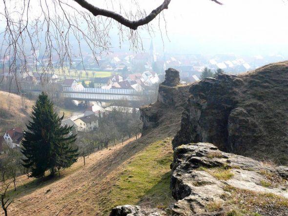 Steinberg - Osthang mit Blick auf Scharzfeld. Foto: Jan Stubenitzky - Lizenz: CC BY-SA 3.0
