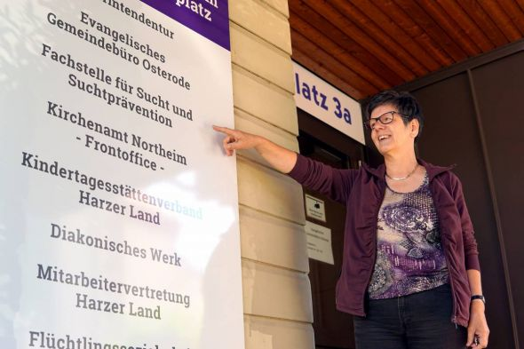 Ingrid Baum, Leiterin der Beratungsstelle