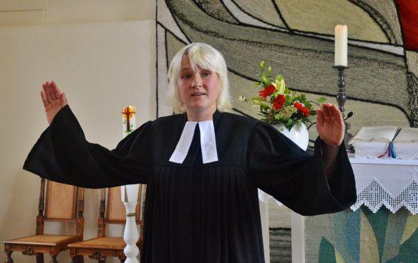 Amelie Pradzynski ist die neue Pastorin für die Steinaer Kirchengemeinde und wird auch als Schulpastorin am Pädagogium in Bad Sachsa tätig sein.