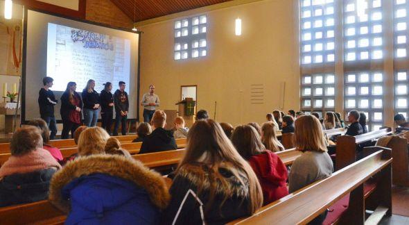 """Das """"Start-Up"""" fand in der Pauluskirche in Bad Lauterberg statt..."""