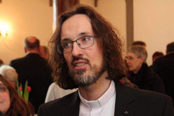 Pastor Torsten Kahle bei einer früheren Veranstaltung