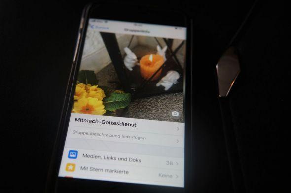 Messenger-Gottesdienste: ein Format mit Zukunft? (Foto: Mareike Spillner)