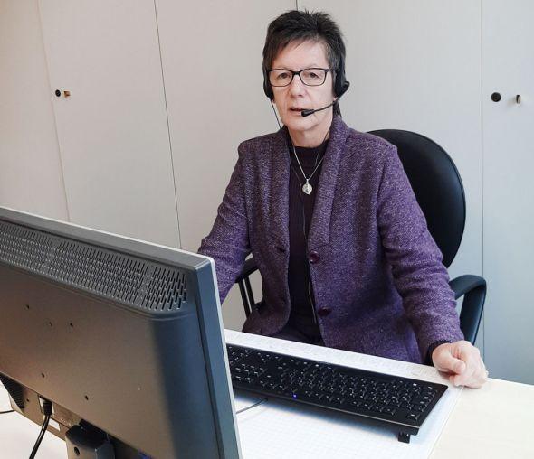 Ingrid Baum, Vorsitzende der Kirchenkreissynode