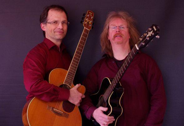 """J.Hirschler und P.Wieboldt leiten musikalisch durch den Abend zum Thema """"Abschied und Tod"""""""
