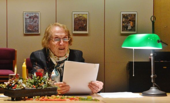 Dr. Heidi Gidion bei ihrem letzten Besuch in Osterode im November 2019 (Foto: Christian Dolle)