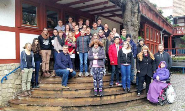 Die Teilnehmer des Seminars im Jugendbildungshaus Tettenborn.