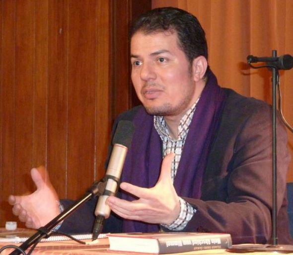 Vor ein paar Jahren war Hamed Abdel-Samad in Bad Sachsa zu Gast.