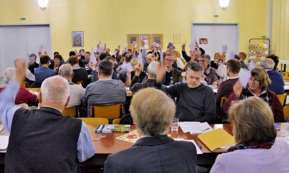 Bei der Kirchenkreistagssitzung standen einige Entscheidungen an.